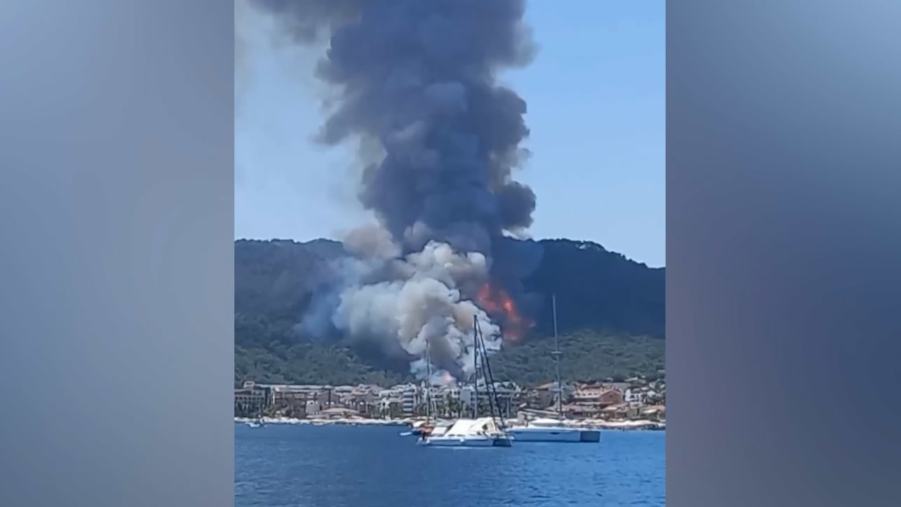 СМИ сообщили о начале эвакуации отелей в турецком Мармарисе из-за лесных пожаров