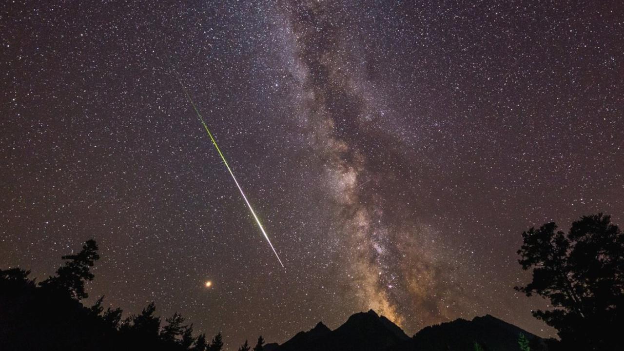В Московском планетарии рассказали о ночном звездопаде
