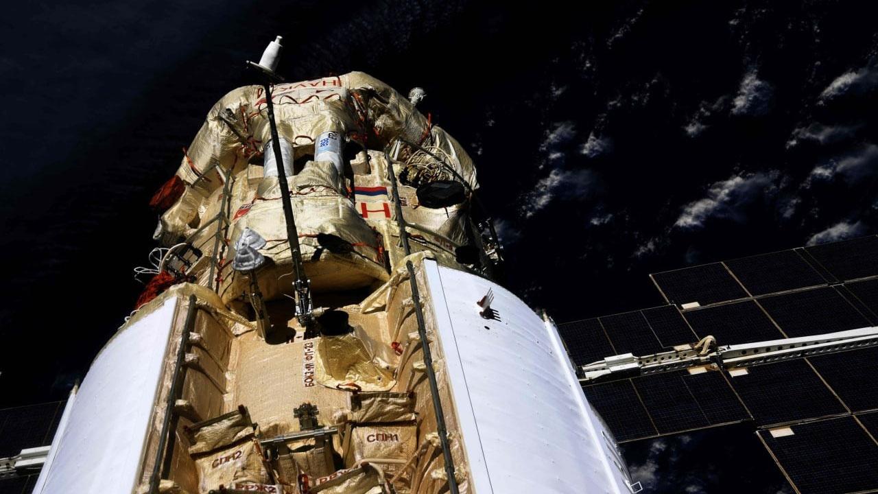 На МКС незапланированно включились двигатели на модуле «Наука»