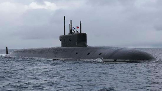 Дважды орденоносные: дивизия подводных ракетных крейсеров Северного флота получила орден Нахимова
