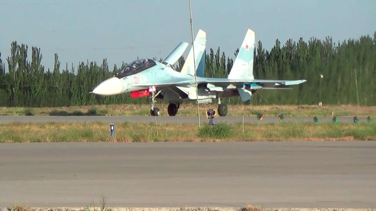 В совместных учениях Вооруженных сил РФ и КНР примут участие истребители Су-30СМ ВВО