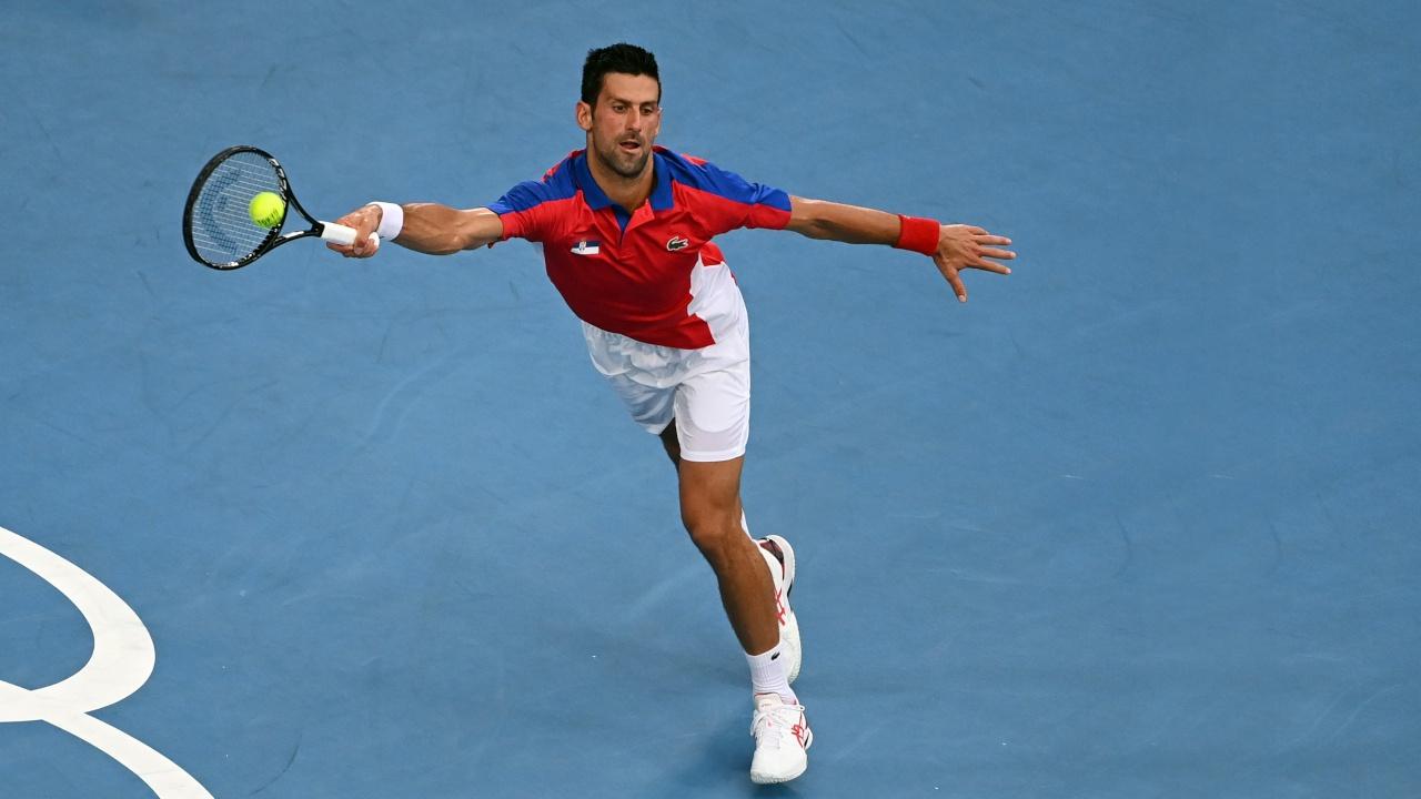 Первая ракетка мира Джокович не смог пробиться в финал олимпийского теннисного турнира