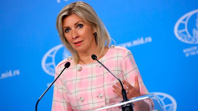 Захарова раскритиковала слова главы МИД Франции о неонацизме на Украине