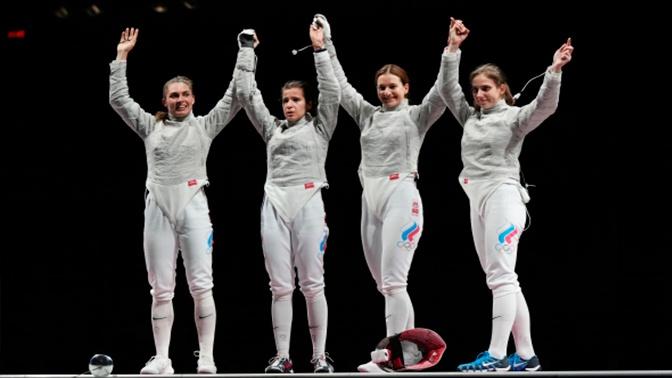 Россияне досрочно обеспечили себе первое место в медальном зачете по фехтованию на ОИ