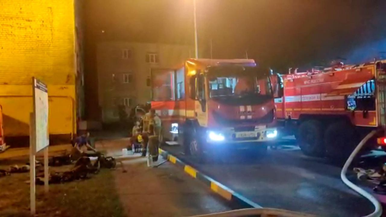 Пожар в студенческом общежитии в Нижнем Новгороде ликвидирован
