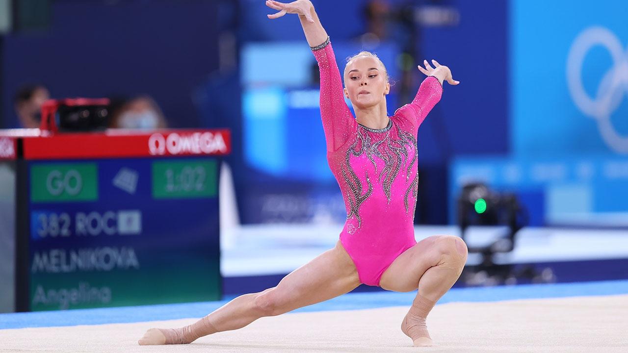 Гимнастка Мельникова завоевала бронзовую медаль в вольных упражнениях на ОИ