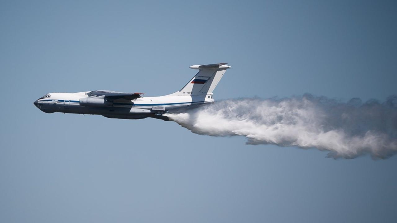 Два военных Ил-76 вылетели на помощь в тушении пожара в Оренбуржье