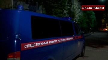 Появились кадры с улицы Шумилова в Москве, где мужчина выбросил сына из окна многоэтажки