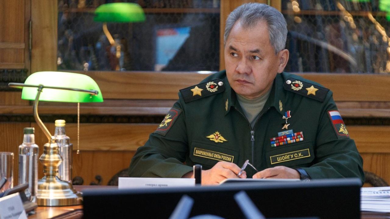 Сергей Шойгу поздравил военных железнодорожников с профессиональным праздником