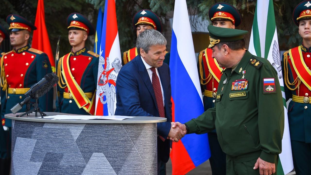 Создатели бренда «Армия России» отмечены государственной наградой президента Российской Федерации