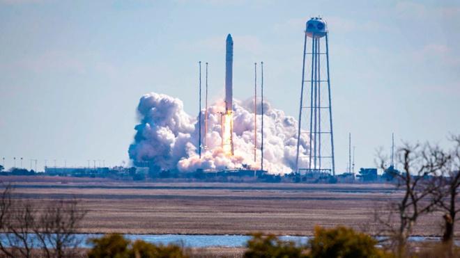 Грузовой корабль Cygnus стартовал к МКС