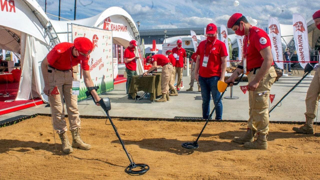 «Юнармия» расширила свою экспозицию в рамках форума «Армия-2021»