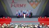 Путин объявил форум «Армия» и АрМИ-2021 открытыми