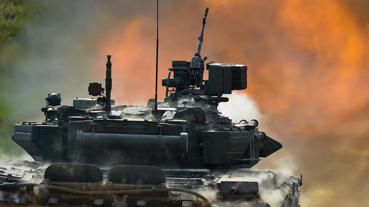 Динамический показ военной техники. День 3