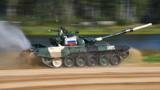 Танковый биатлон. Индивидуальная гонка. Экипаж 3. Россия, Китай, Узбекистан