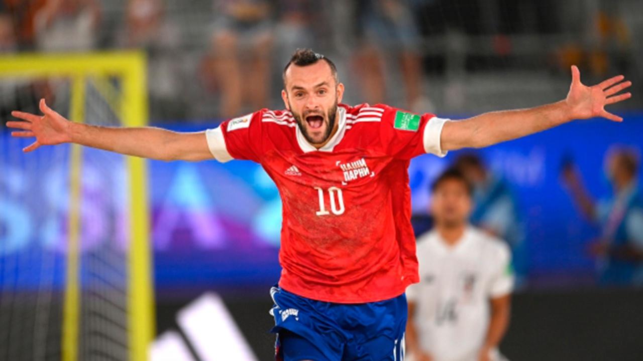 Папоротный стал обладателем «Серебряного мяча» ЧМ-2021 по пляжному футболу