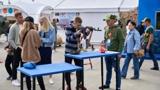 В подмосковном парке «Патриот» продолжает работу клуб болельщиков конкурса «Морской десант» АрМИ-2021
