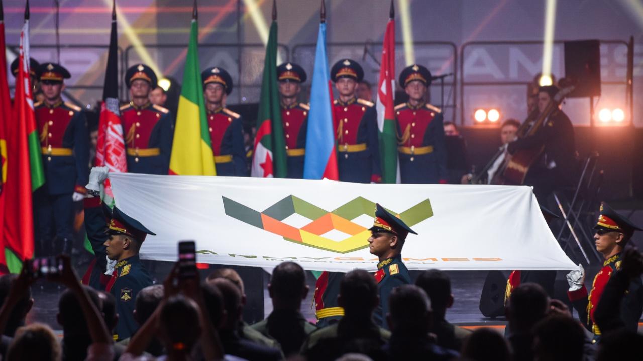 Церемония закрытия VII Международных армейских игр