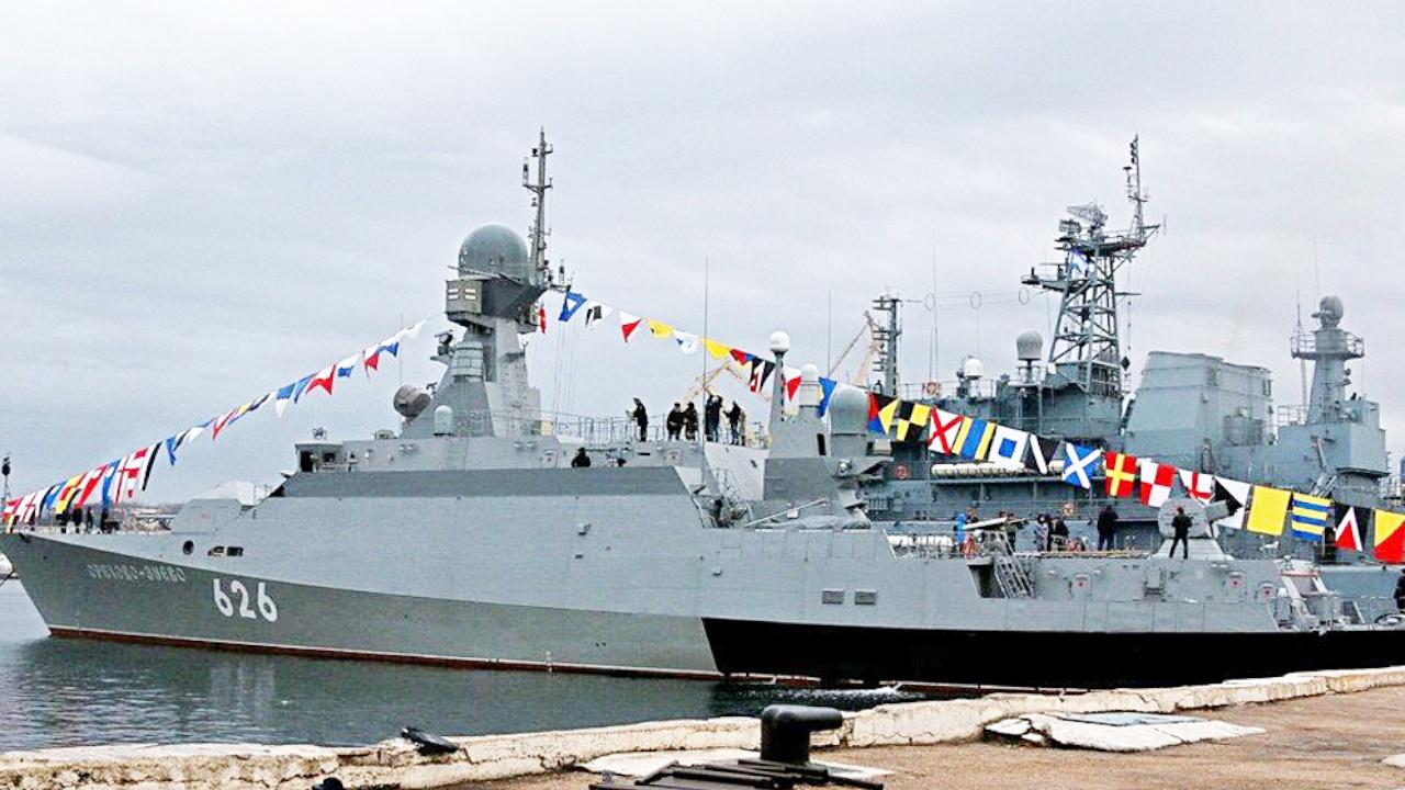 Малый ракетный корабль «Град» спустят на воду в конце сентября