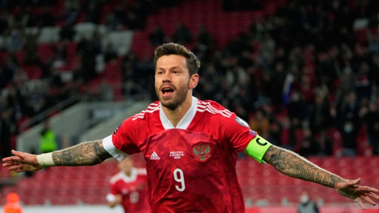 Смолова назвали лучим игроком матча с Мальтой