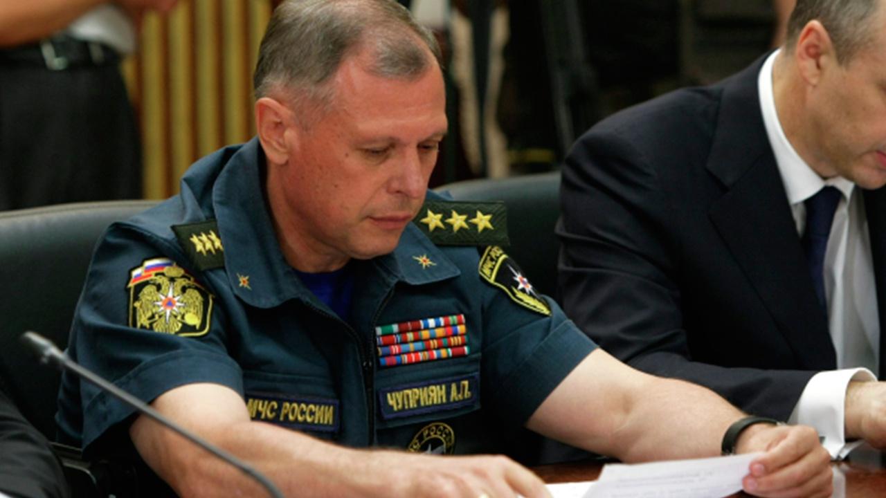 Генерал-полковник Александр Чуприян