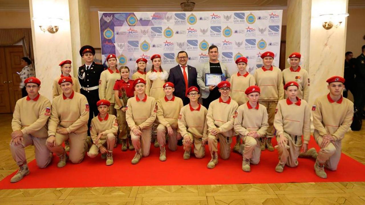 «Юнармия» стала победителем Всероссийского фотоконкурса «Я служу в ВКС!»