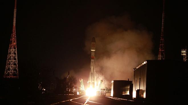Ракета-носитель «Союз-2.1б» со спутниками OneWeb стартовала с Байконура