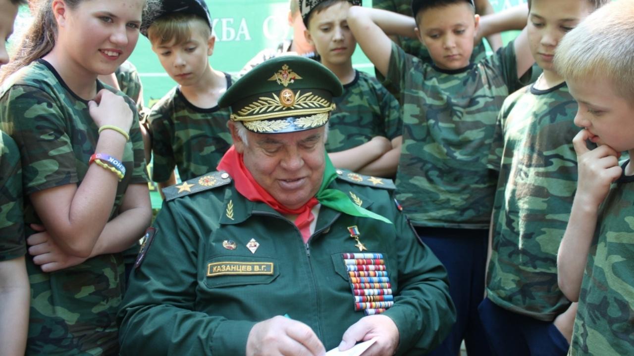 Президент России выразил соболезнования в связи со смертью генерала Казанцева