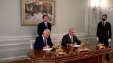 «Газпром нефть» и «Лукойл» подписали соглашение о сотрудничестве в Ямало-Ненецком автономном округе