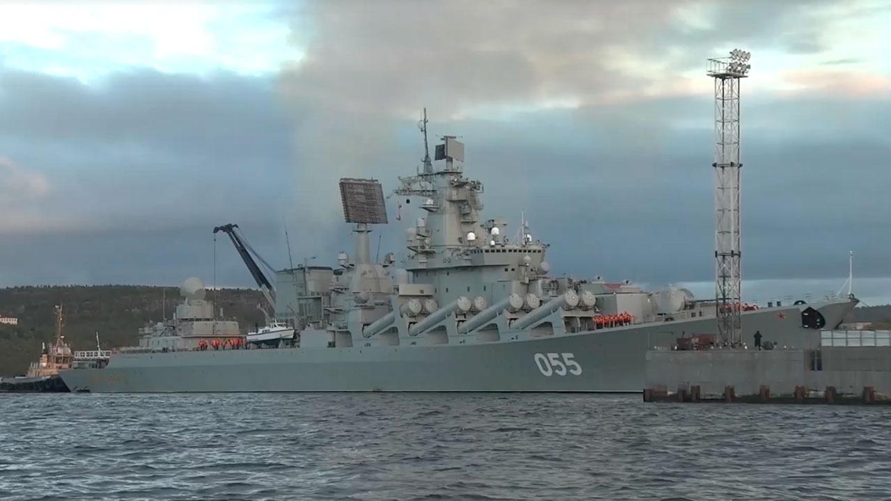 Корабли Северного флота вернулись в места базирования после учений в Арктике