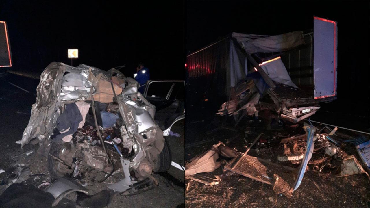 Водитель КамАЗа, протаранивший иномарки под Воронежем, был пьян