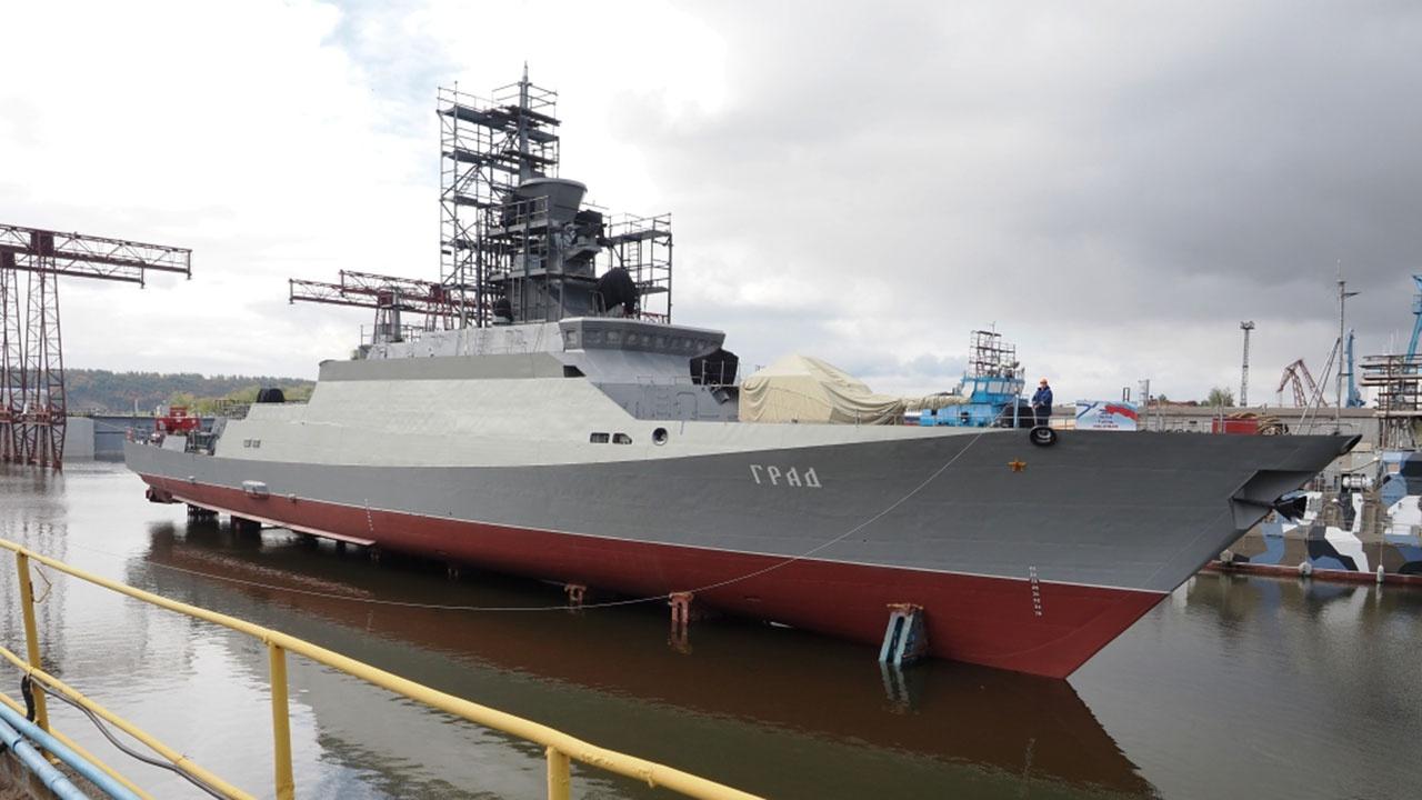 Малый ракетный корабль «Град» спустили на воду