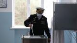 Военнослужащие Каспийской флотилии впервые проголосовали на выборах депутатов Госдумы на территории Дагестана