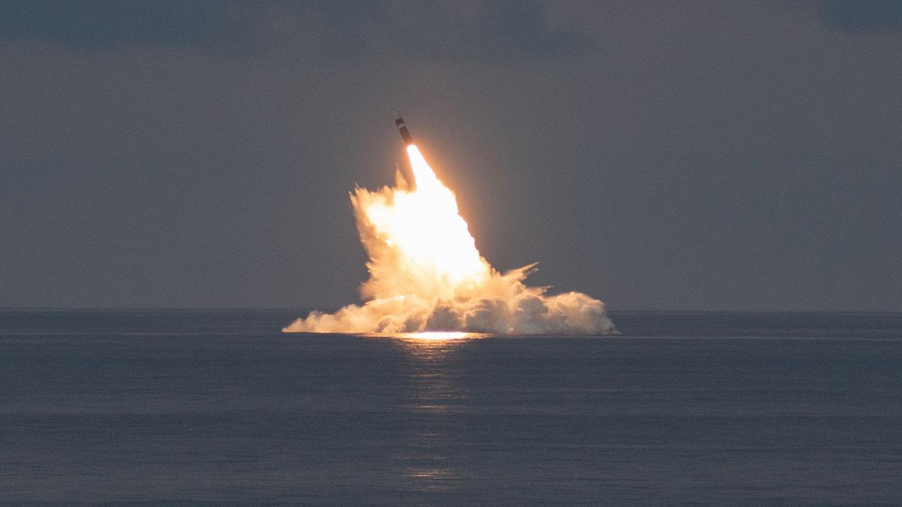 В США заявили об успешном испытании баллистической ракеты Trident II