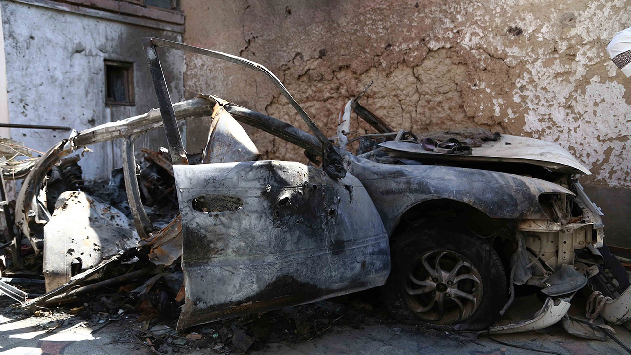 СМИ: ЦРУ предупредило о детях в атакованной машине в Кабуле за секунды до удара