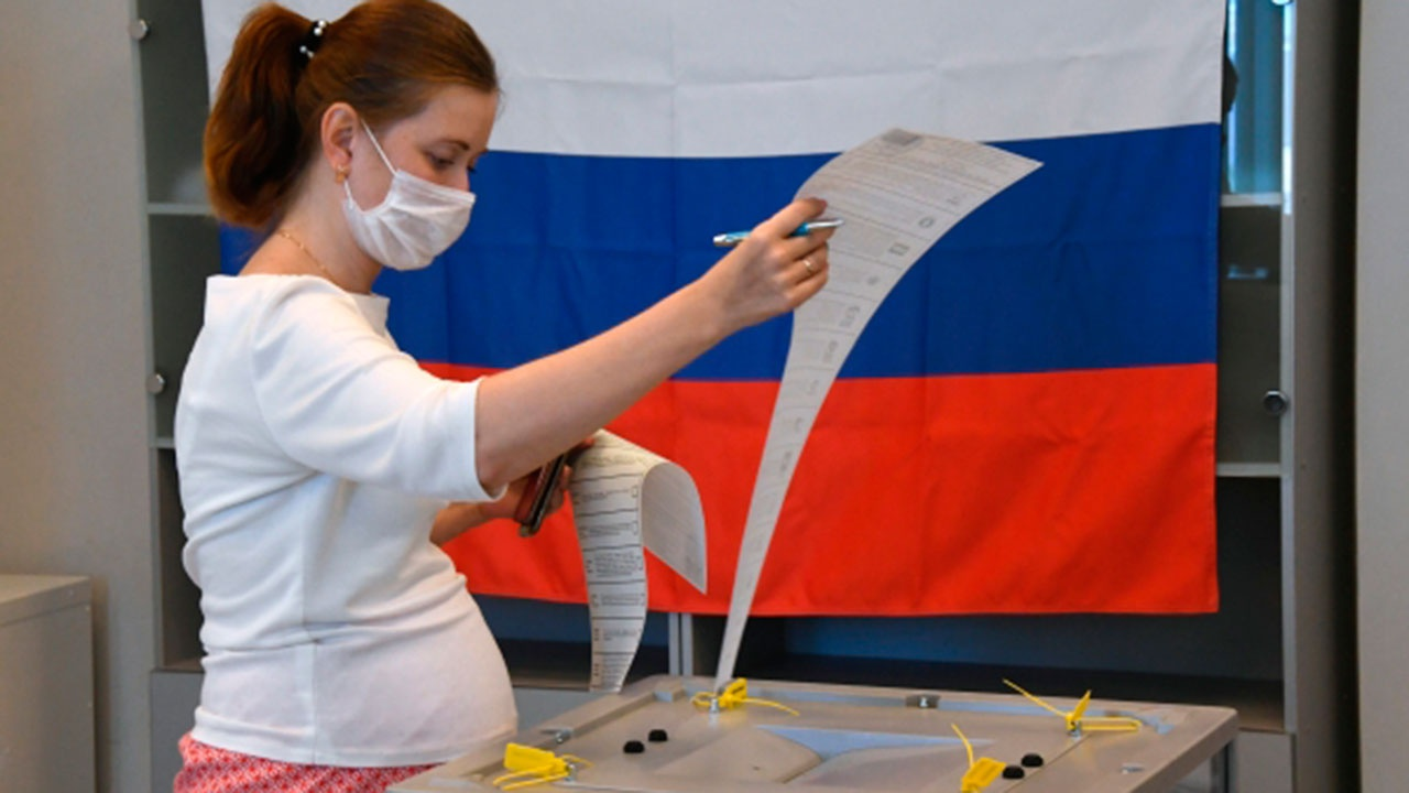 Явка на выборы в Госдуму по России составила 35,69%