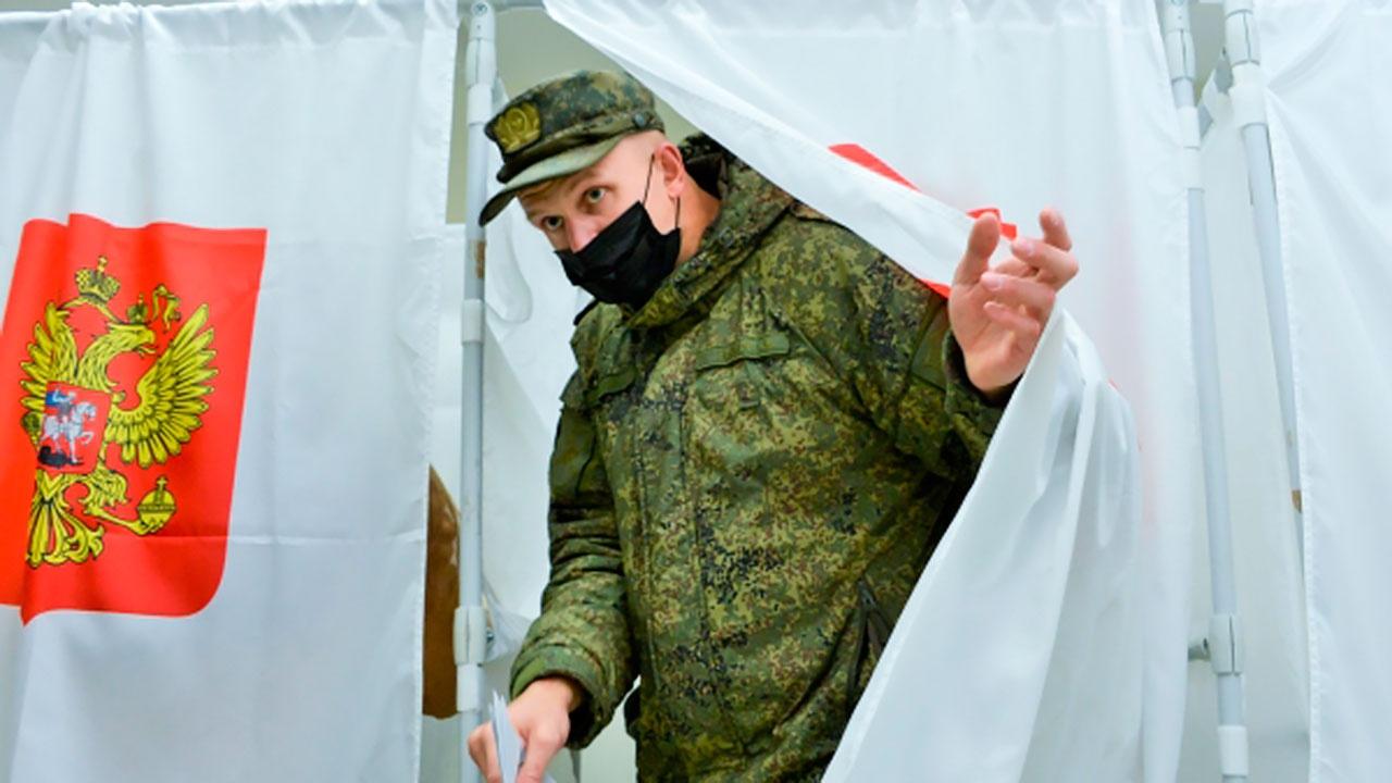 Все военнослужащие ВВО проголосовали на выборах депутатов в Госдуму России