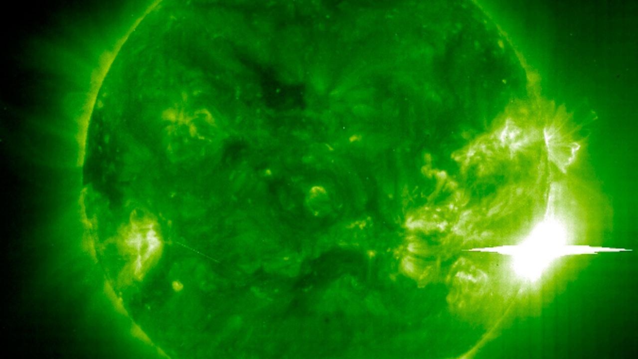 Ученые спрогнозировали мощные магнитные бури после вспышек на Солнце