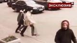 Погоня средь бела дня:  кадры вооруженного ограбления банка в Санкт-Петербурге