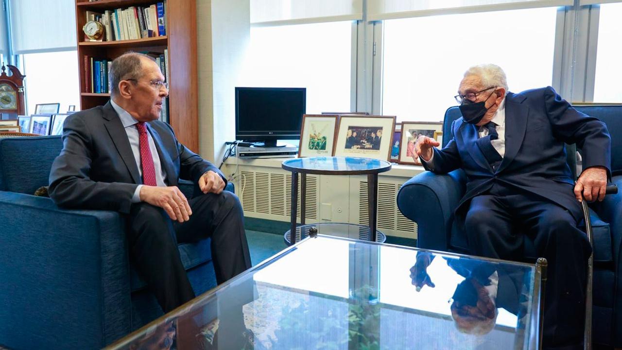 Лавров встретился с Киссинджером
