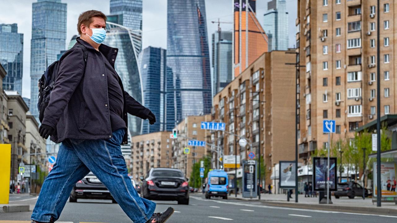 В России за сутки выявили 22 041 новый случай заражения COVID-19