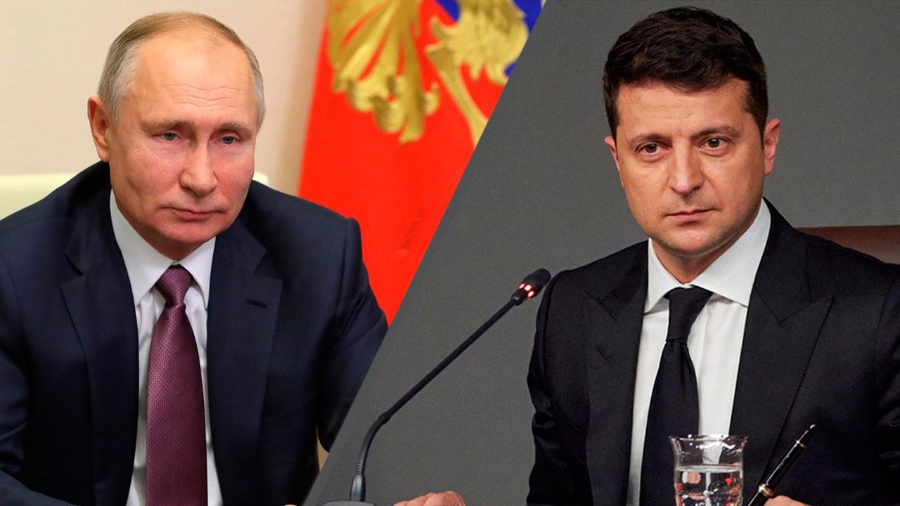 В Кремле оценили вероятность контактов Путина и Зеленского