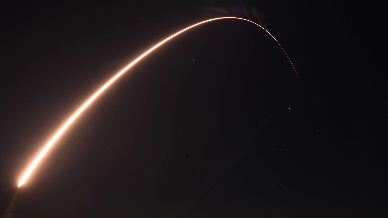 В США заявили об успешном испытании ракеты, двигавшейся в пять раз быстрее скорости звука