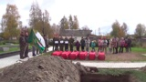 Останки трех погибших в 1944 году советских десантников торжественно захоронены в Карелии