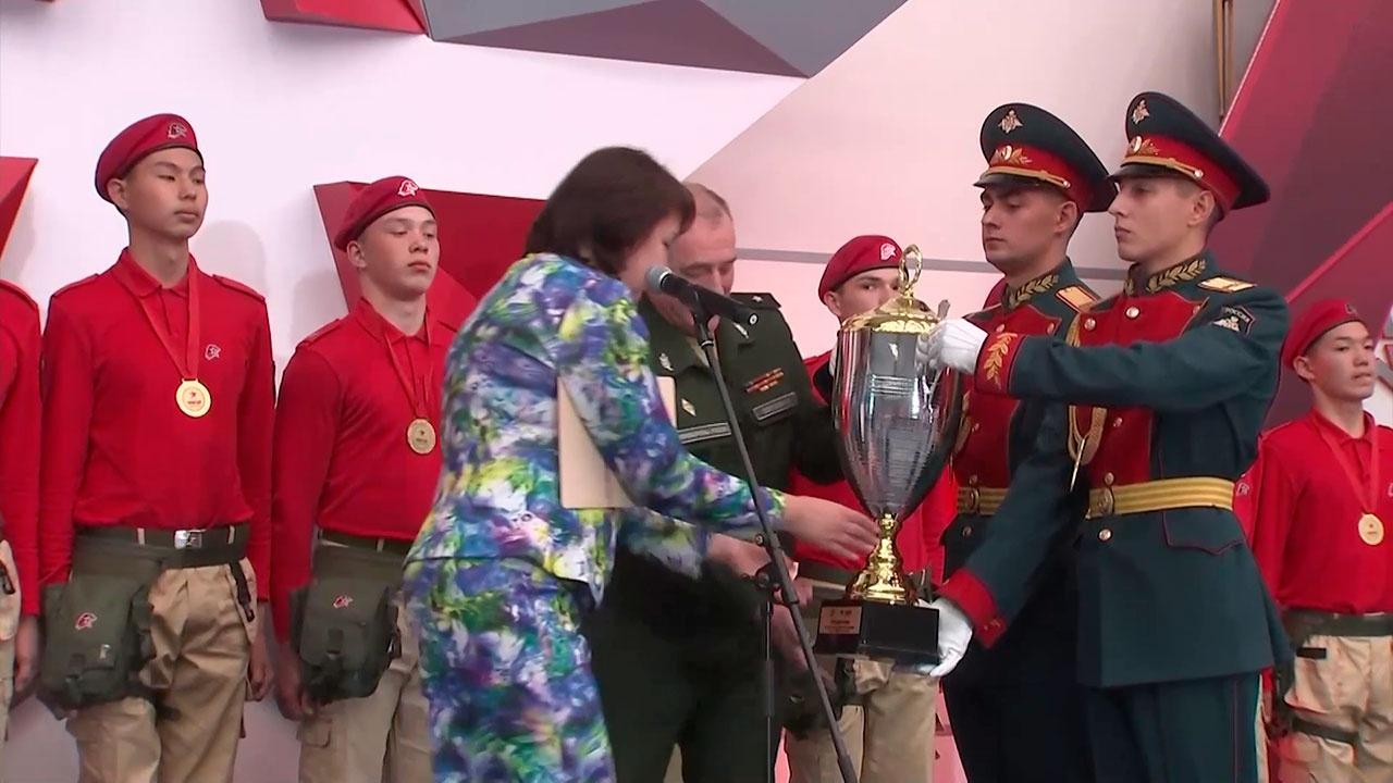 Юнармейцы из Бурятии победили в конкурсе всероссийской военно-спортивный игры «Победа»