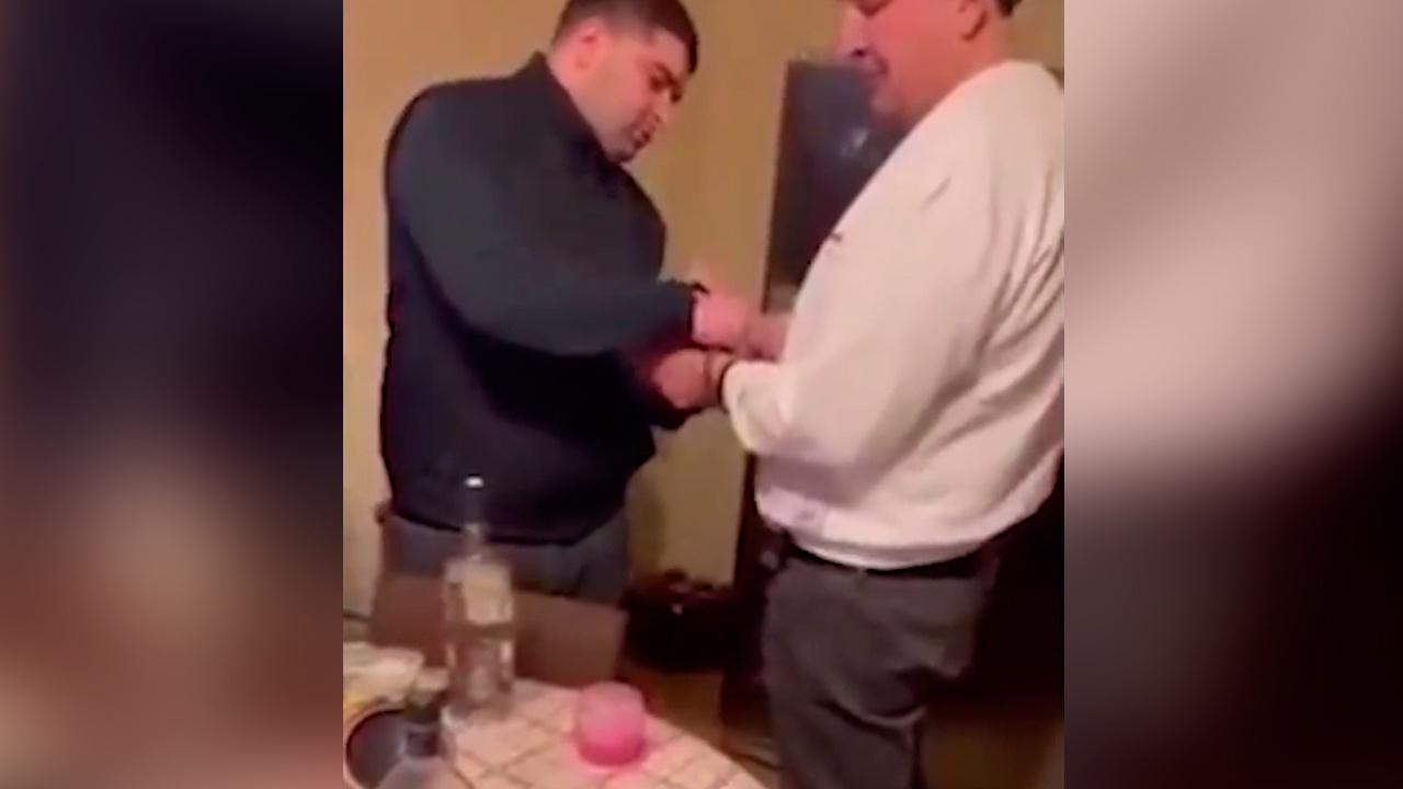 Кадры задержания Саакашвили распространились в соцсетях