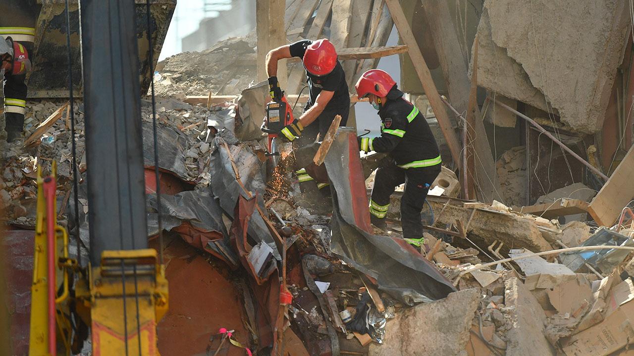 В Батуми обнаружили девятую жертву обрушения дома