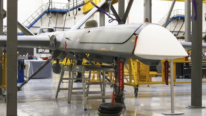 Новейшим ударным беспилотником «Орион» можно будет управлять из любой точки мира