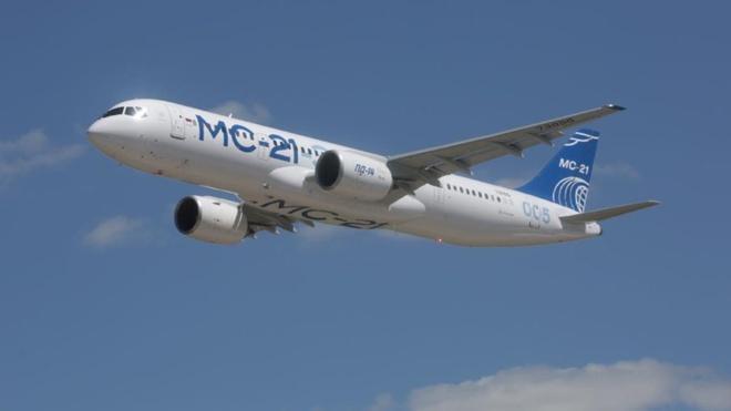 Авиалайнер МС-21 планируется сертифицировать в декабре 2021 года