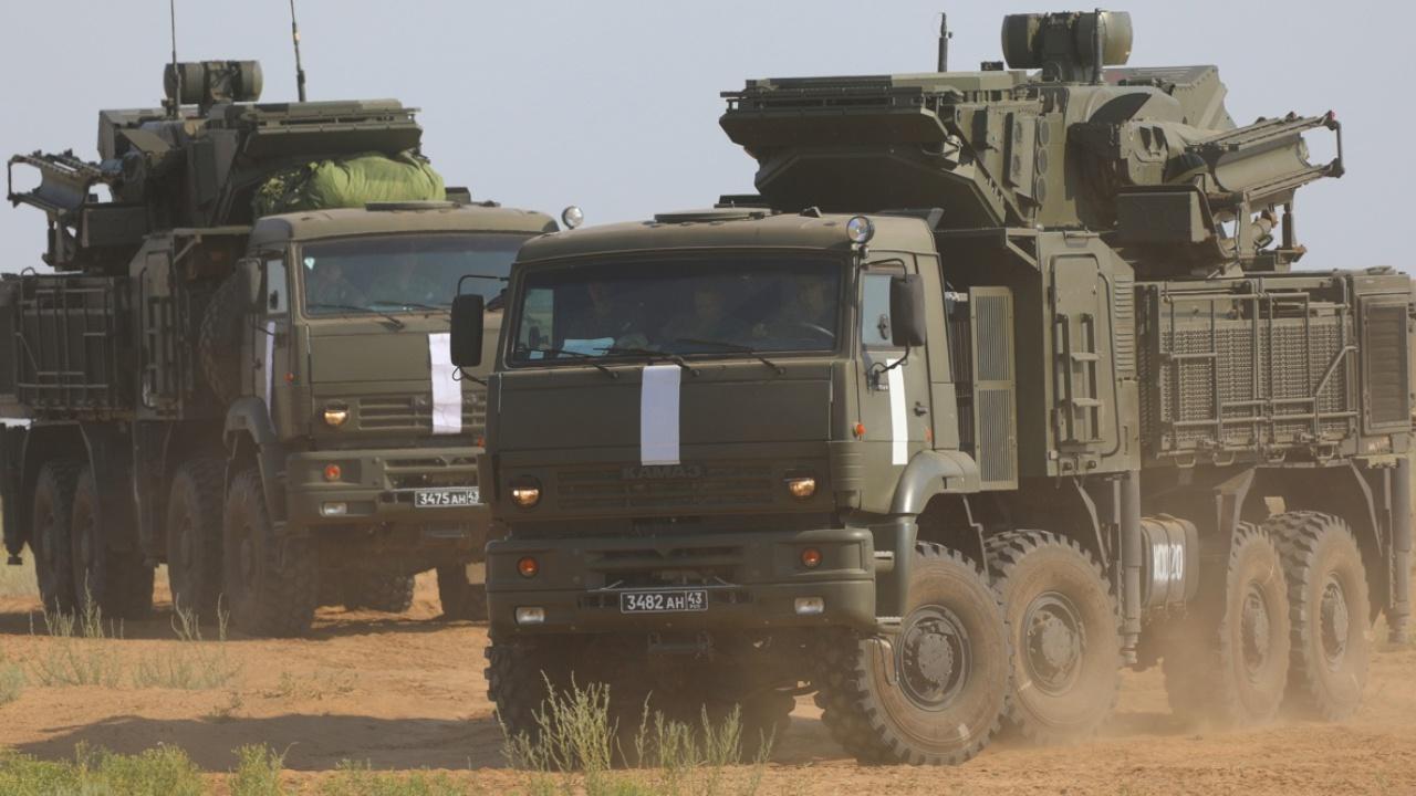 Российские «Панцири» прибыли в Сербию для участия в учениях «Славянский щит - 2021»